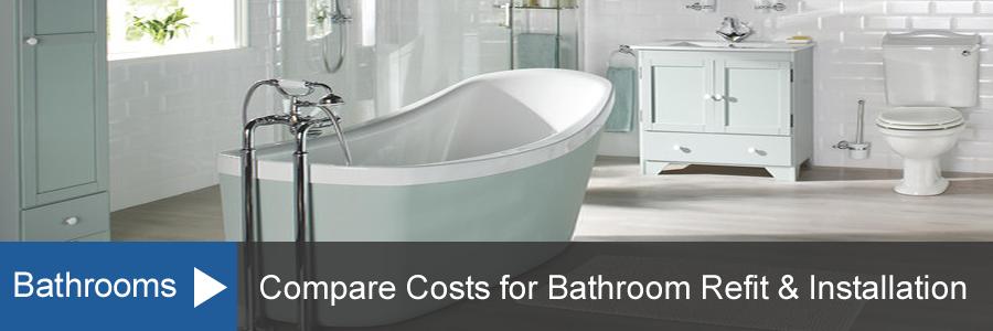New Bathroom Refit Cost Guide Home Improvement Costs
