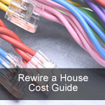 Cost to Rewire a House or Bungalow Guide
