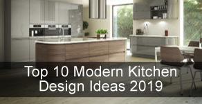 10 Modern Kitchen Design & Layout Ideas for 2019