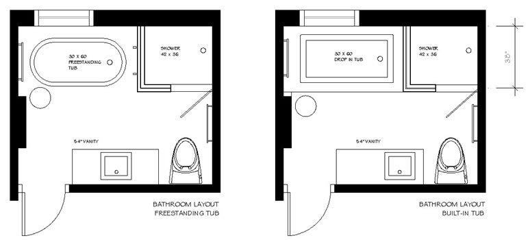 Bathroom Small Layout