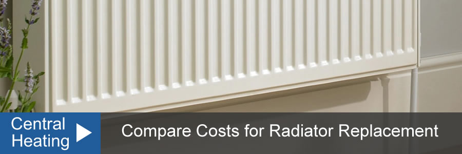 Radiator Replacement Cost UK, With