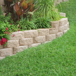 Curved Brick Garden Border