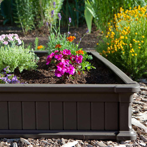 Plastic Raised Garden Bed