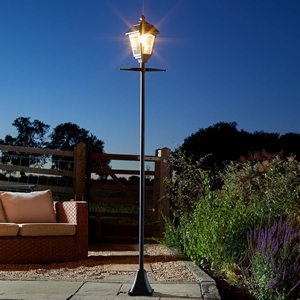 Vintage Lamp Post Solar Lights