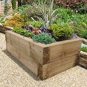 Wooden Raised Sleep Garden