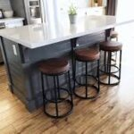 basic kitchen island with seating