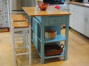 Small Portable Kitchen Island With Seating
