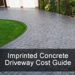 Imprinted Concrete Driveway Cost Guide